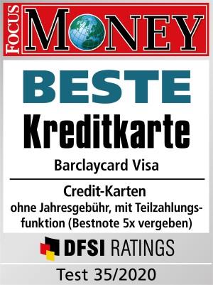 Focus Money Kreditkarten Test